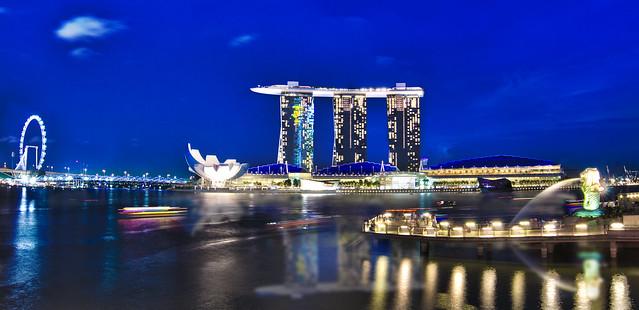 Singapore Marina Bay Paranomic