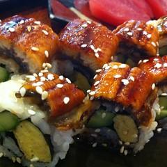 unagi maki @ Sushi Masa