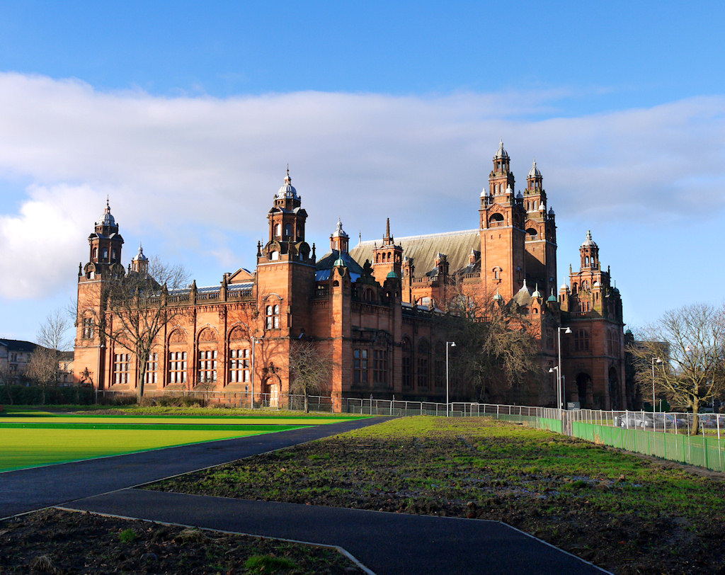 kelvingrove art gallery and museum: january