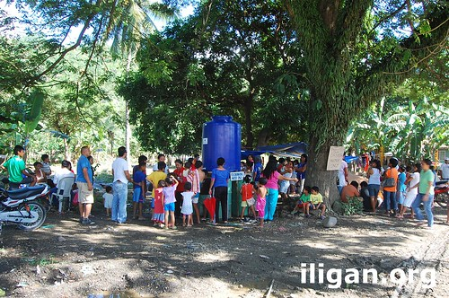 Sendong drinking water Iligan City