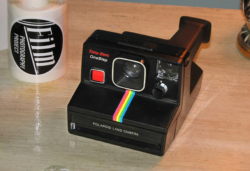 Polaroid Time Zero One Step SX-70 camera