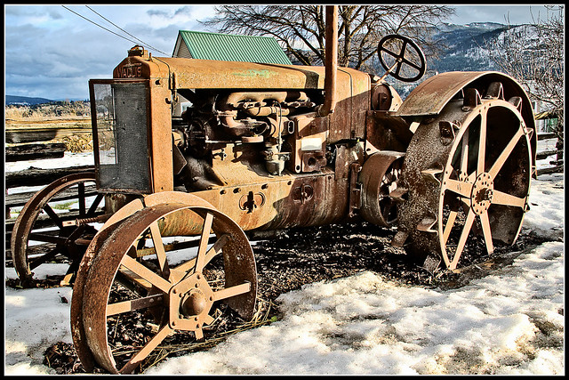 Tractor Salvage Yards : Tractor junk yard flickr photo sharing