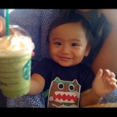 green tea monster