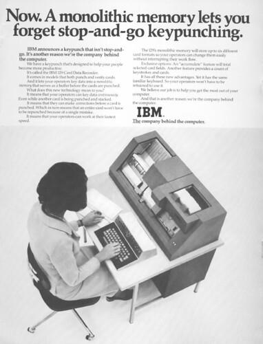 IBM129 Keypunch ad