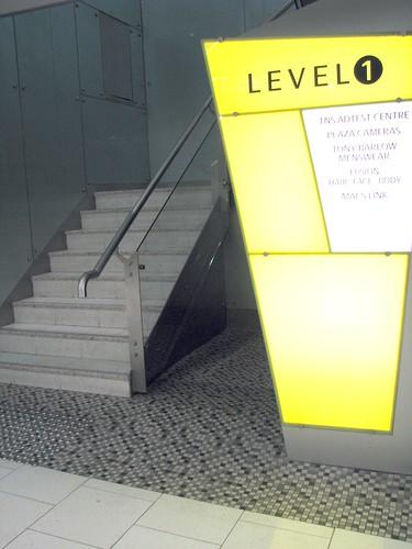 この階段を見落とさず上がってきてくださいね♪