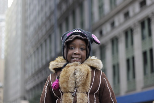 Child at Occupy Wall Street