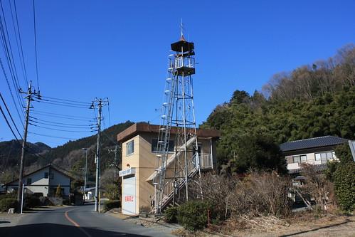 小津の火の見櫓(八王子市)