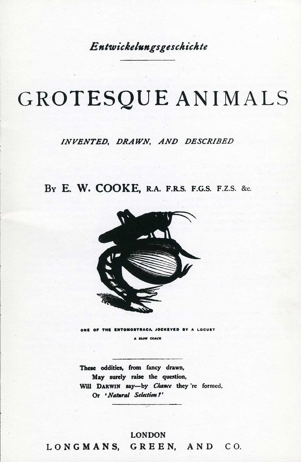 Edward William Cooke - Grotesque Animals - 2