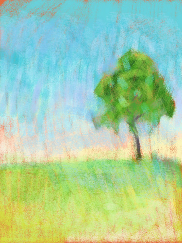 Tree - an iPad and Stylus experiment