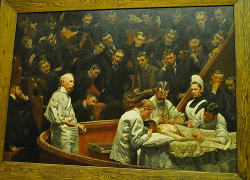 An analysis of thomas eakins paint the gross clinic