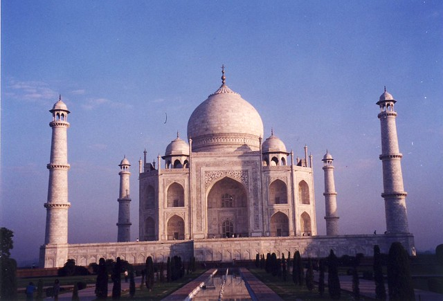 Taj Mahal at dawn, 7:00 am