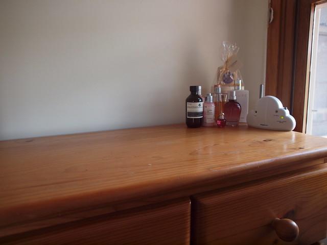 a clean dresser