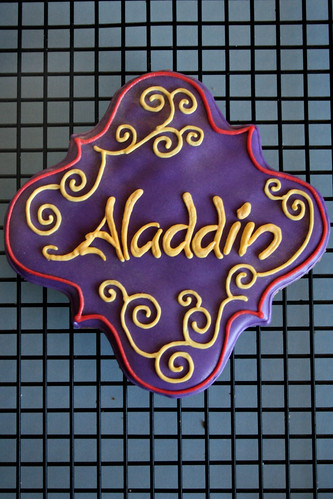 Aladdin cookie.