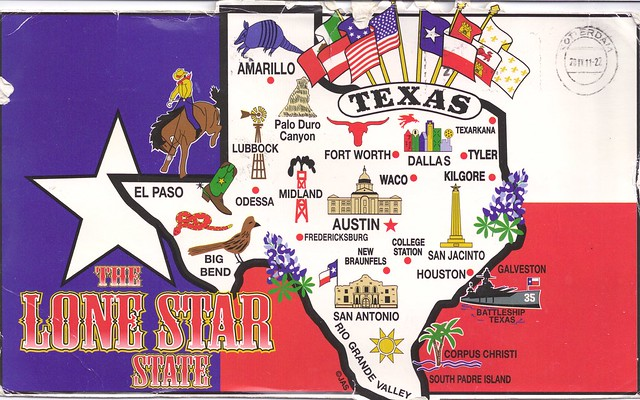 Texas-The Lone Star State