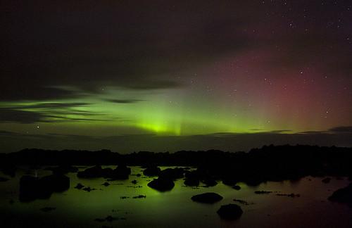無料写真素材, 自然風景, 空, オーロラ, 夜空