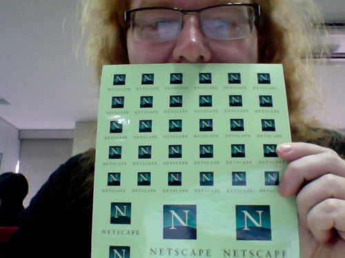 Netscape stickers