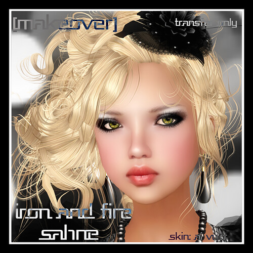 Iron  and Fire Sahne Makeover @ [mock] cosmetics by Mocksoup