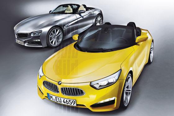 BMW Z5 y BMW Z2