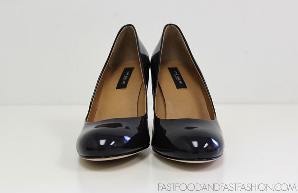 ann taylor AT perfect pump patent navy front