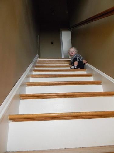 staircase fun!
