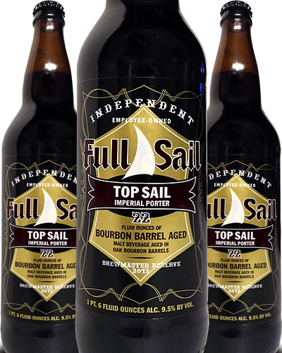 Full Sail Top Sail Bourbon Barrel Aged Imperial Porter