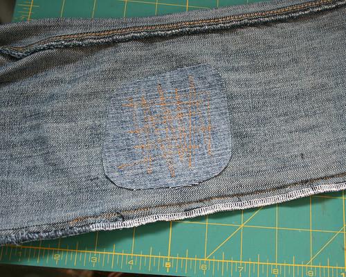 mending jeans 3