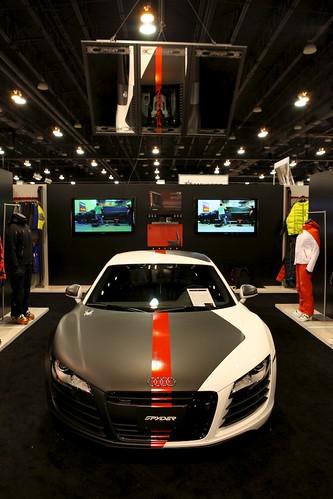 Spyder Audi Car
