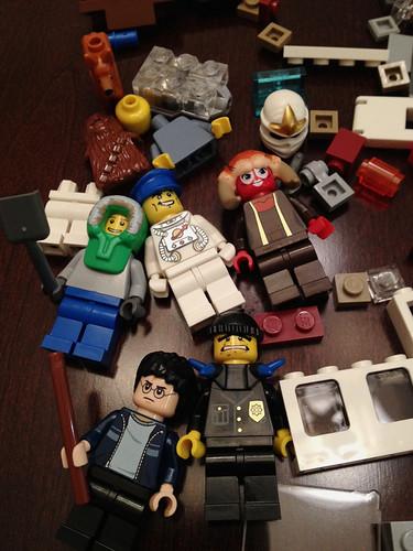 LEGO Grab bag contents