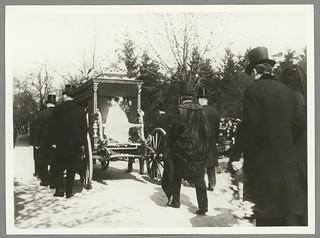 August Strindberg's funeral