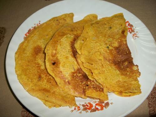 Instant Rajasthani Besan Ka Cheela / Besan Pancakes / Gram ...