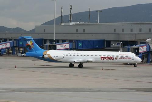 UNITED AIRWAYS MD-83 SX-BPP(cn2057)