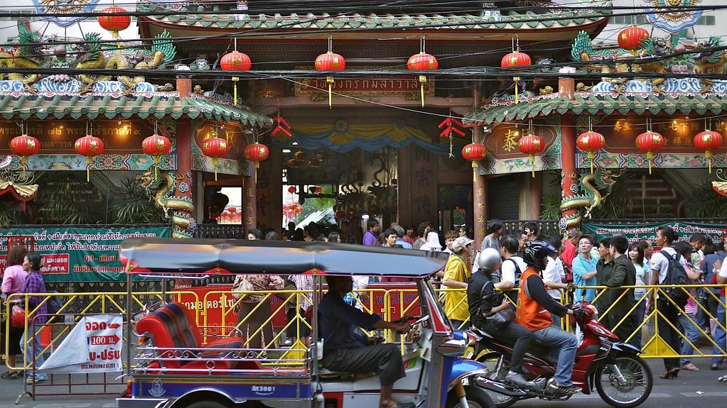 Wat Mangkon Kamalawat Entrance
