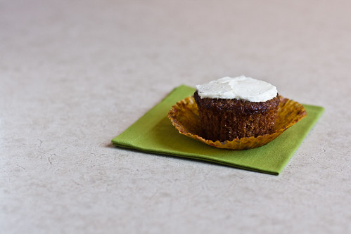 Carrot Cake Cupcake (Unwrapped)