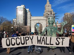 Occupy Wall Street: J29, Occupy Town Square, Washington Square Park