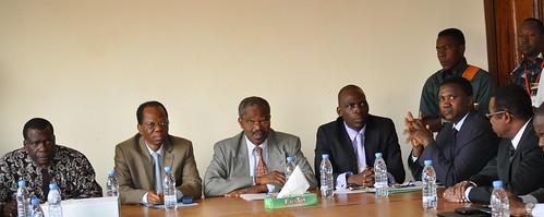 Conférence de presse du nouveau Directeur de l'URES de Korhogo
