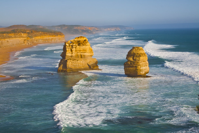 Photo:12 Apostles, Great Ocean Road, Victoria, Australia By Travellers Travel Photobook