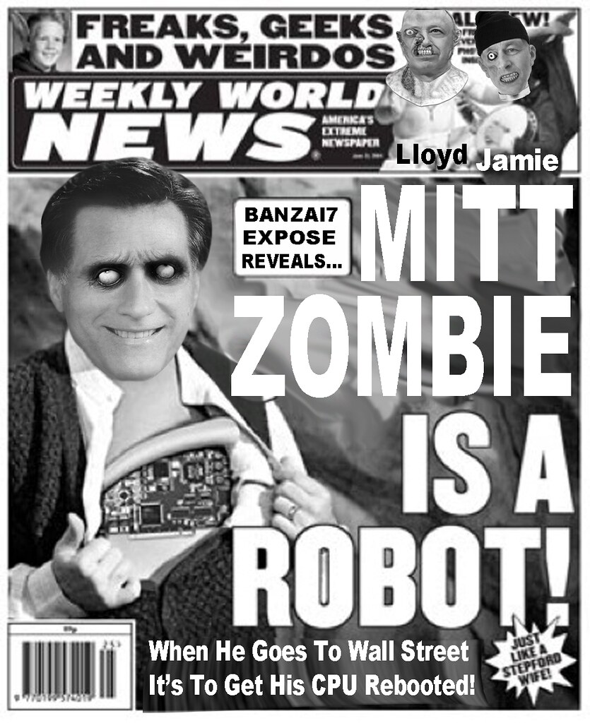 MITT ZOMBIE IS A ROBOT!