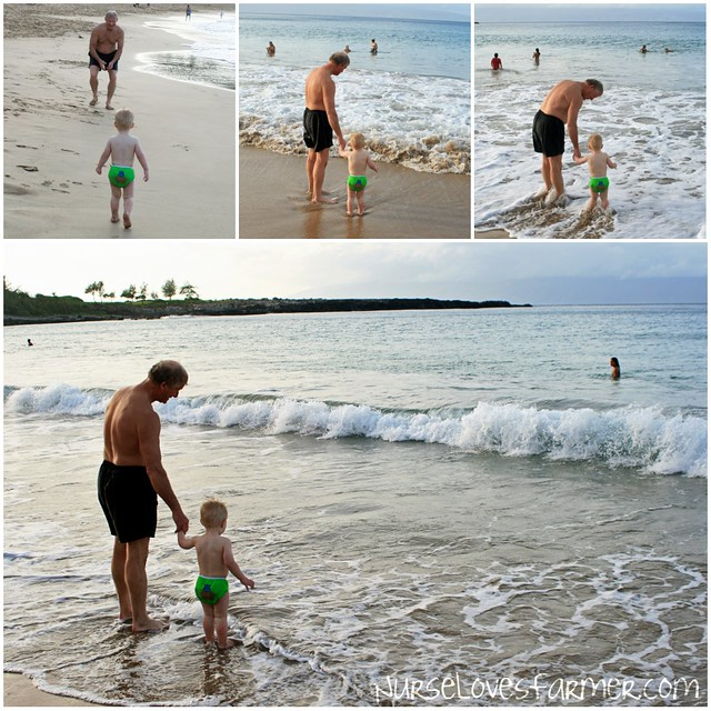 Ocean With Papa
