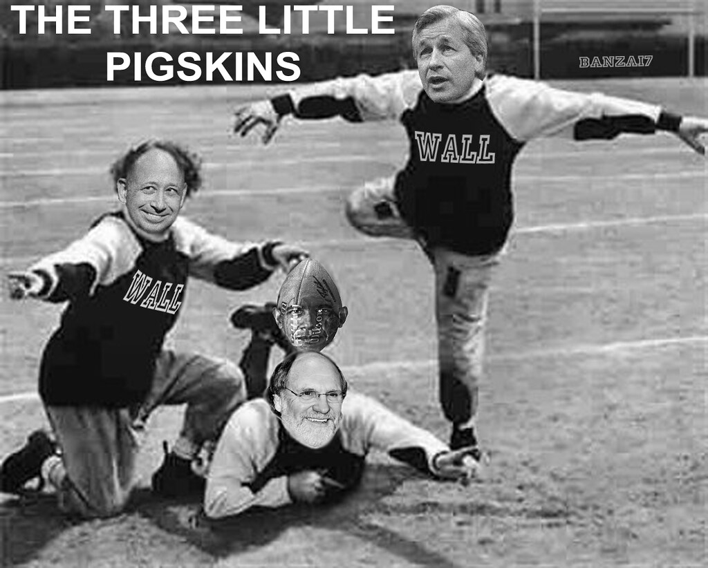 THE THREE LITTLE PIGSKINS
