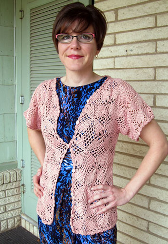 Wood Blocks Cardigan