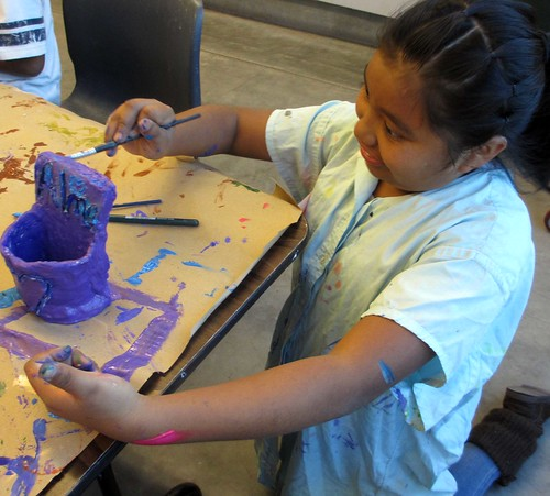 painting clay