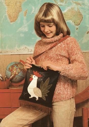 vintage cock bag