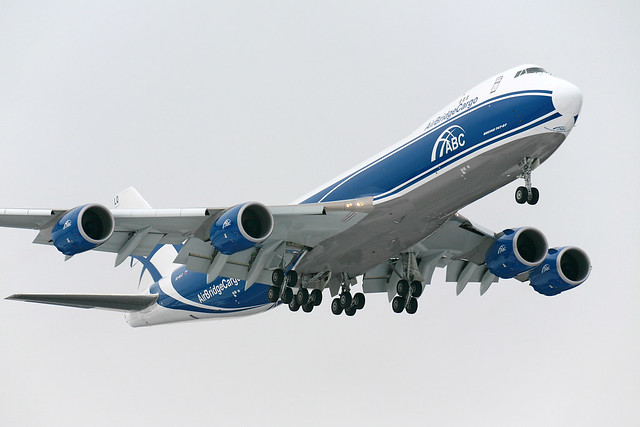 first Boeing 748 in Moscow