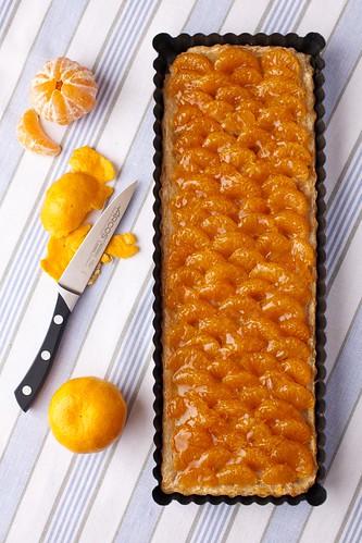 Pastís de mandarina