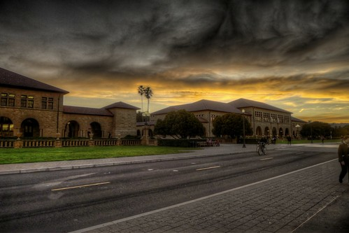 Stanford Sunset (HDR)