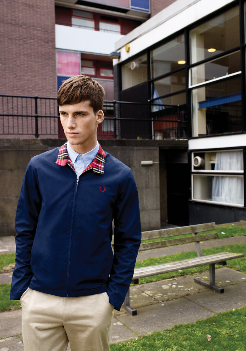 Johnny George0012_FRED PERRY SS12