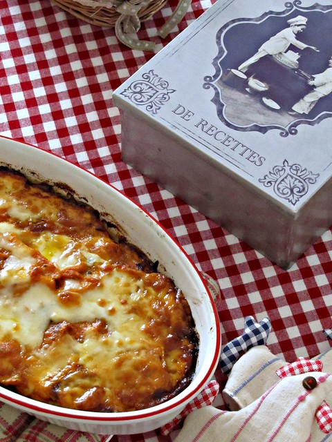 Parmigiana Filante di Zucca Confit in Salsa di Peperoni (2)