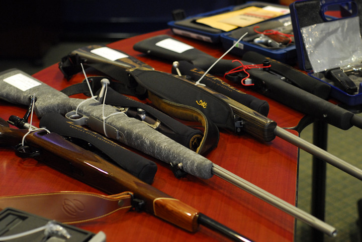 Weapons seized by Saanich police