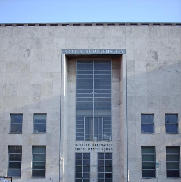 Scuola di Matematica - Università la Sapienza di Roma