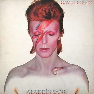 David Bowie Aladdin Sane album 1973